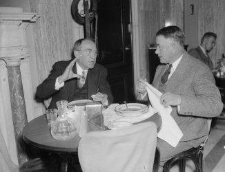 1937 Photo Senate And House Leaders Together. Washington, D.C., Nov. 13. Spea F3
