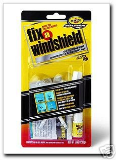 RainX Fix a Windshield Do it Yourself Windshield Repair Kit, for Chips, Cracks, Bulll's-Eyes and Stars (Cracked Glass Repair Kit compare prices)
