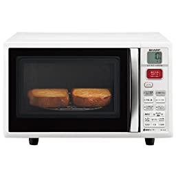 SHARP Microwave Oven White 15L RE-S15F-W system (Japan Import)