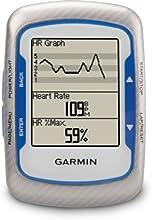 Garmin Edge 500 GPS Vélo + Ceinture cardiofréquencemètre et Capteur cadence Etanche USB Bleu