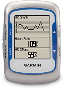 Garmin Edge 500 Cycling GPS with Speed/Cadence Sensor and Digital Heart Rate Monitor
