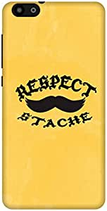 The Racoon Grip Respect The Stache hard plastic printed back case / cover for Huawei Honor 4X