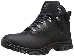 Timberland Men\'s Keele Ridge Hiker Boot, Black Oiled, 8 M US