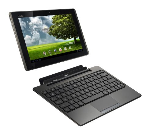 Asus EeePad Transformer TF101 10.1 inch Tablet PC (nVidia Tegra2 1GHz, 1Gb, 16Gb eMMC, WLAN, BT, Android 3.0) with docking station and keyboard