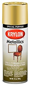 Krylon 1708 Metallic Paints, Brass