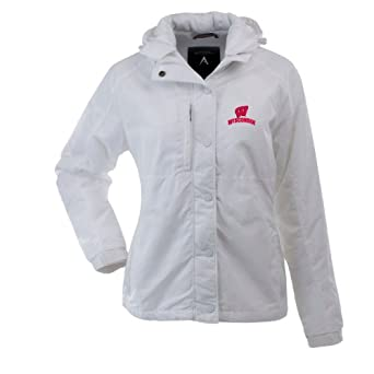 NCAA Wisconsin Badgers Trek Jacket Ladies by Antigua