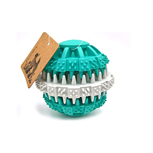 petfun-favorite-ridged-ball-dental-care-tpr-teething-toy-aqua-with-small-and-large-size
