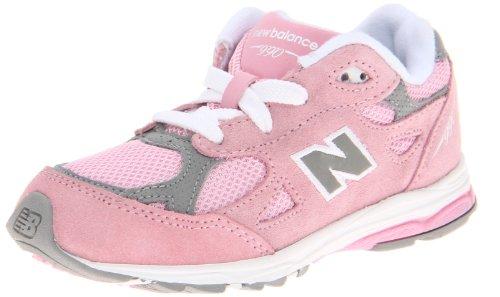 New Balance KJ990 Running Shoe (Infant/Toddler),Pink/Grey,9 W US Toddler