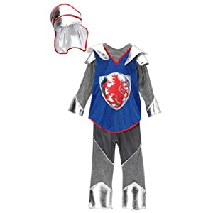 Silver & Royal Blue Knight Dress Up Set - Toddler & Kids (Choose Size)