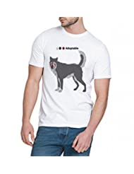 Chillum Men's Cotton T-shirt White - B00R94Y4IO