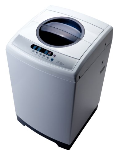 Midea 1 6 cf portable washing machine washer - Small space washing machines set ...