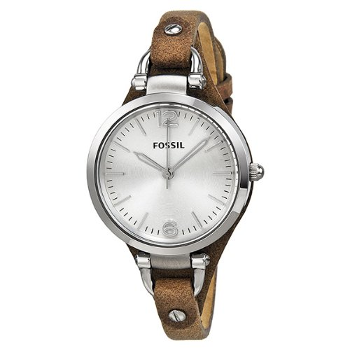 FOSSIL Georgia Three Hand Leather Watch Tan