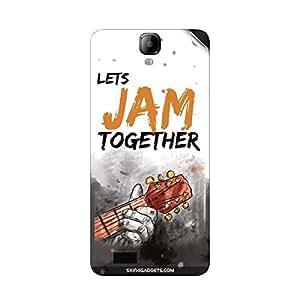 Skin4Gadgets Lets Jam Together Phone Skin STICKER for INTEX AQUA AMAZE
