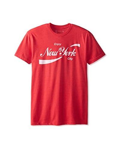 DiLascia Men's Enjoy New York Short Sleeve Crew Neck T-Shirt