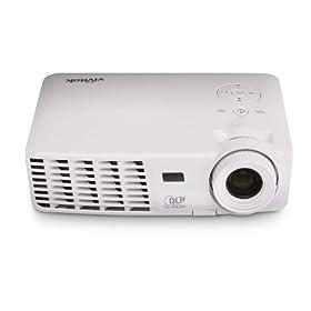 Vivitek D508 2600 Lumen SVGA 3-D Ready Portable DLP Projector (White)