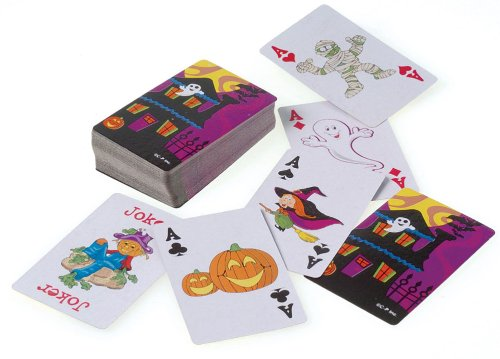 Halloween Playing Cards - 1