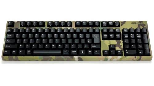 Majestouch 2 Camouflage JP青軸 フルサイズ かななし USBPS2両対応 Nキーロールオーバー対応 独Cherry青軸採用メカニカルキーボード MULTICAM FKBN108MC/NMU2