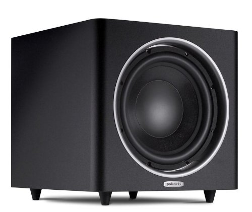 "Polk Audio 100 Watt Black 10"" Powered Subwoofer, With State-Of-The-Art Klippel Distortion Analyzer And Patented Dynamic Balance, Features A Heavy-Duty Mdf Enclosure, Produces Maximum Bass Impact"