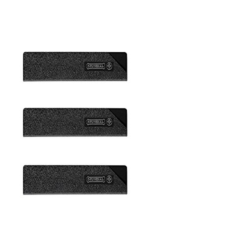 Mundial Knife Blade Guard Set - 3 Pc - Pro Series Lined Guards - 8W x 3