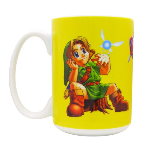 The Legend Of Zelda Ocarina Of Time Young Link Tazza
