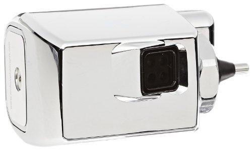 Rubbermaid FG401186A Auto Flush Side Mount Polished Chrome Urinal Flushing System, 4-3/4