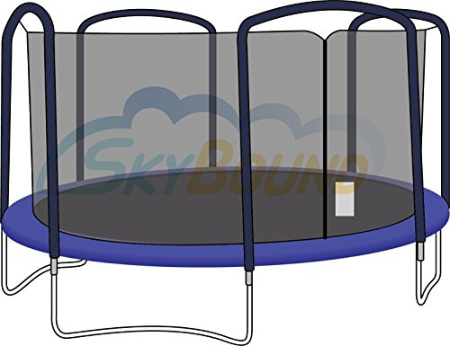 Trampoline Safety Enclosure Net 15-Foot 4 Arch for Jumpking,