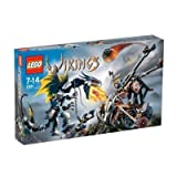 LEGO VIKINGS Double Catapult Vs. The Armored Ofnir Dragon (7021) - B000EXH3PI