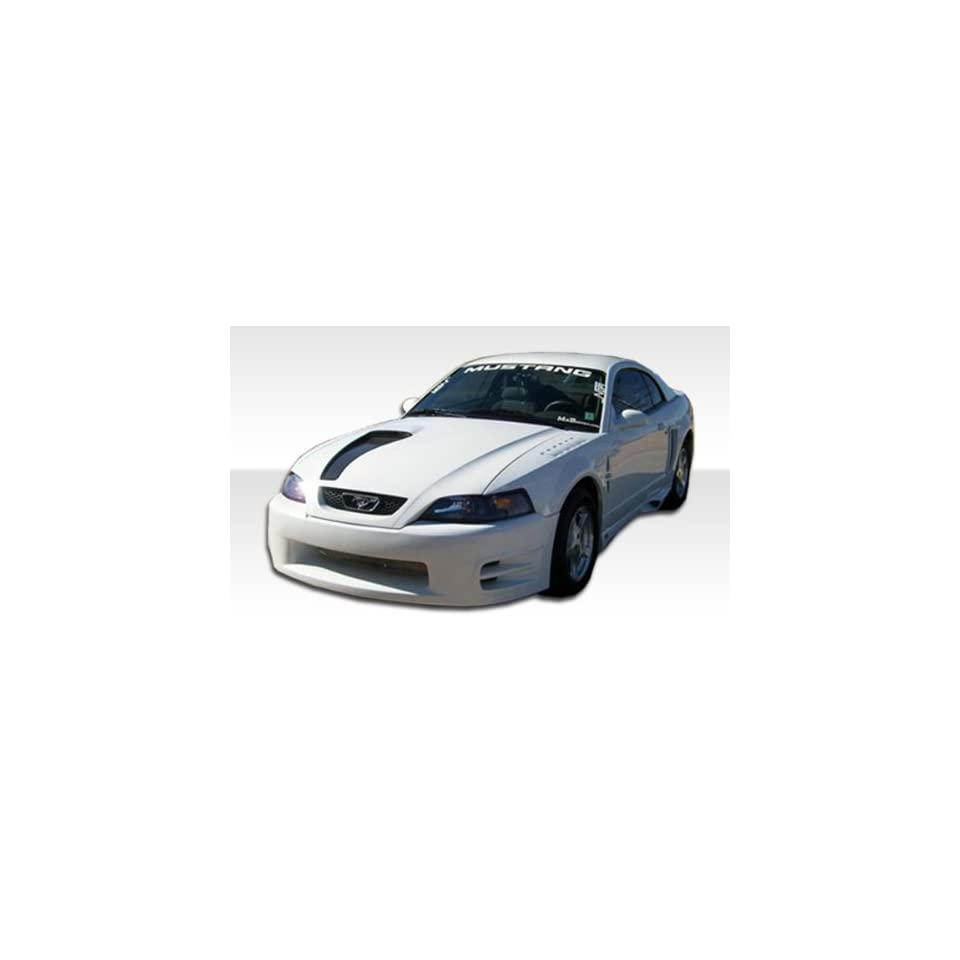 1999 2004 Ford Mustang Duraflex KR S Body Kit   5 Piece   Includes KR S Front Bumper (102477) KR S Rear Bumper (102479) KR S Side Skirts (102478) KR S Grill Adapter (102950)