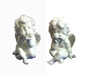 statues Ange Chérubin Grand Modèle Sculpture: Jardin