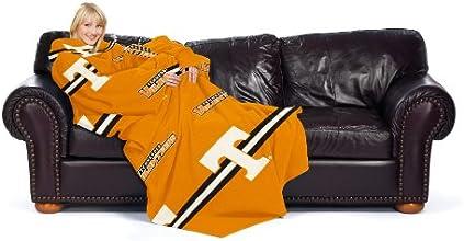 NCAA Tennessee Volunteers Tennessee Orange Striped Comfy Throw