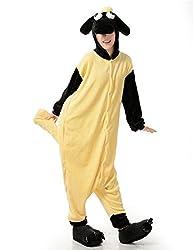 VU ROUL Unisex-adult Onesies Christmas Sheep Animal Kigurumi Costume