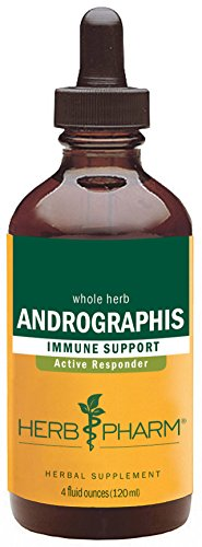 Herb Pharm Andrographis Extract for Immune System Support - 4 Ounce