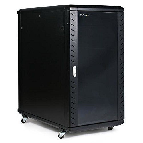 Startech.Com 22U 36-Inch Knock-Down Server Rack Cabinet With Caster Computer Case Rk2236Bkf