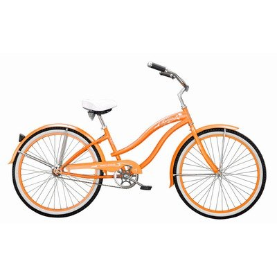 Women's Rover GX Beach Cruiser Bike Color: Orange
