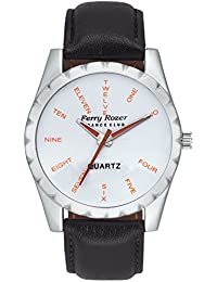 Ferry Rozer White Dial Analog Watch For Men & Boys - FR1062