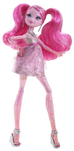 Barbie A Fashion Fairytale Flairies Glim'R Doll