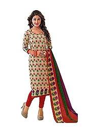 Reya Printed Cotton salwar suit dupatta dress Material