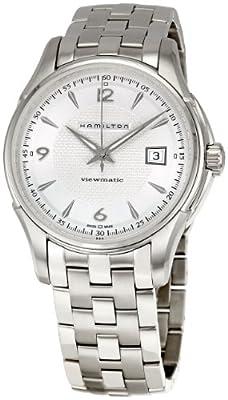 Hamilton Men's H32515155 Jazzmaster Viewmatic Silver Dial Watch by Hamilton
