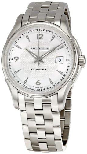 Hamilton Men's H32515155 Jazzmaster Viewmatic Silver Dial Watch