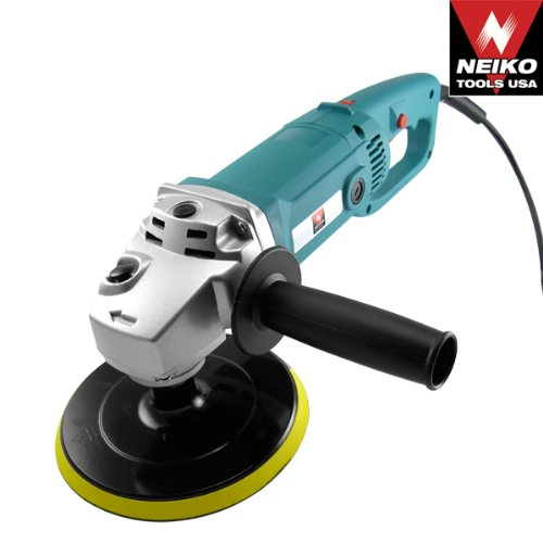 Buy Bargain Neiko 10671A 7-Inch Pro Grade Variable Speed Polisher and Buffer with Velcro Pad