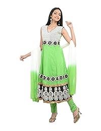 Sareeshut Women's Cotton Regular Fit Anarkali Suits - B00WQZ7KSM