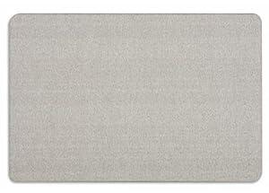 Quartet Oval Office Frameless Fabric Bulletin Boards, 4 x 3 Feet, Gray (7684G)