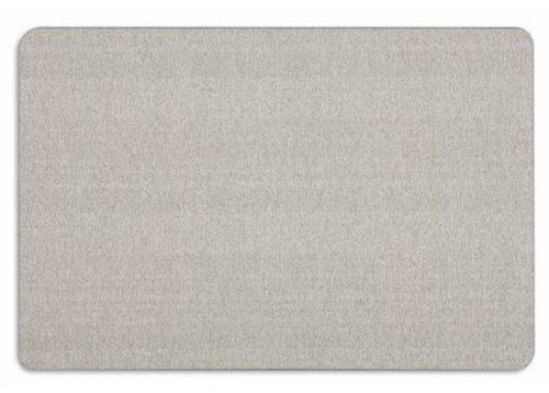 Quartet Oval Office Frameless Fabric Bulletin Boards 3 x 2 Feet Gray 7683GB00006I9WA
