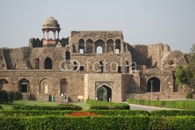 "Wallmonkeys Peel and Stick Wall Decals - Old Fort, New Delhi - 72""W x 48""H Removable Graphic"
