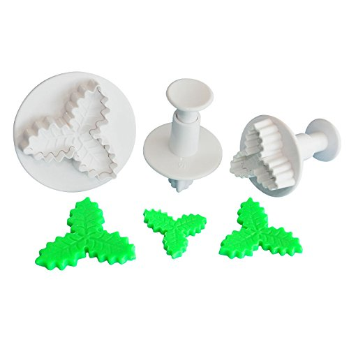 holly-leaf-medium-size-plunger-cutters