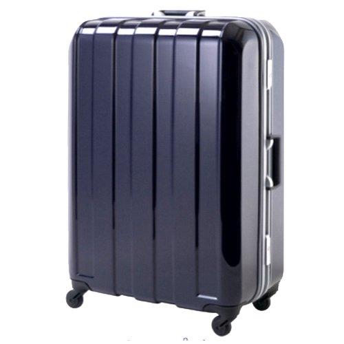(ヒデオワカマツ)HIDEO WAKAMATSU スーツケース マスキュラー 85-75188 L ディープパープル 72.5cm