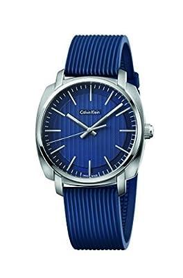 Calvin Klein Highline Blue Quatz Analog Men's Watch K5M311ZN