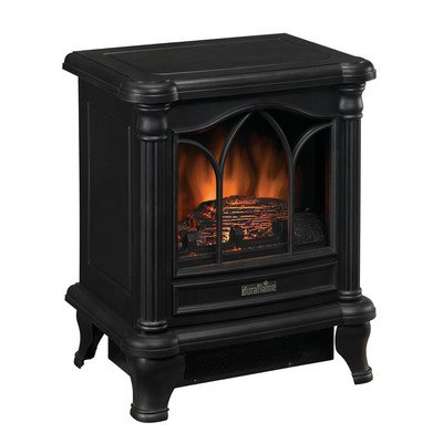 B005QRZJ4O Duraflame DFS-450-2 Carleton Electric Stove with Heater, Black