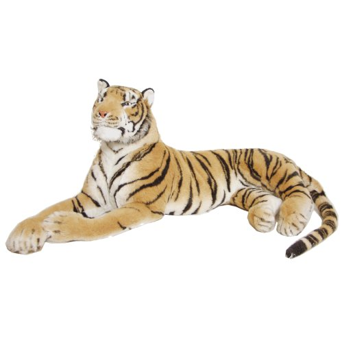 The Real Life Size Tiger/ Brown / 2 Metres +/ Brand New - BRUBAKER Design