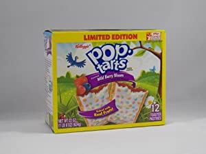 Pop-tarts: Frosted Wild Berry Bloom